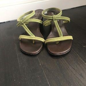 Donald J. Pliner Shoes - Donald J. Pliner green heels